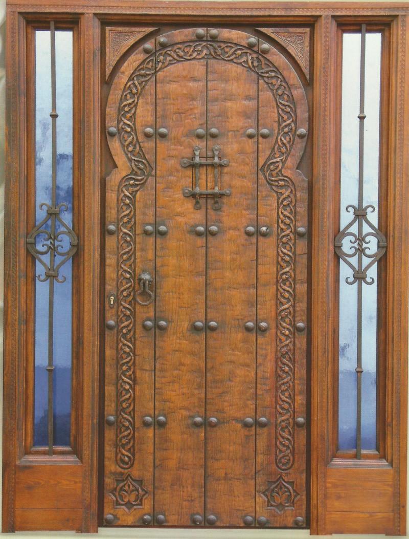 Puertas De Madera Y Cristal Interesting Puertas De Exterior De  ~ Cristales Para Puertas De Madera