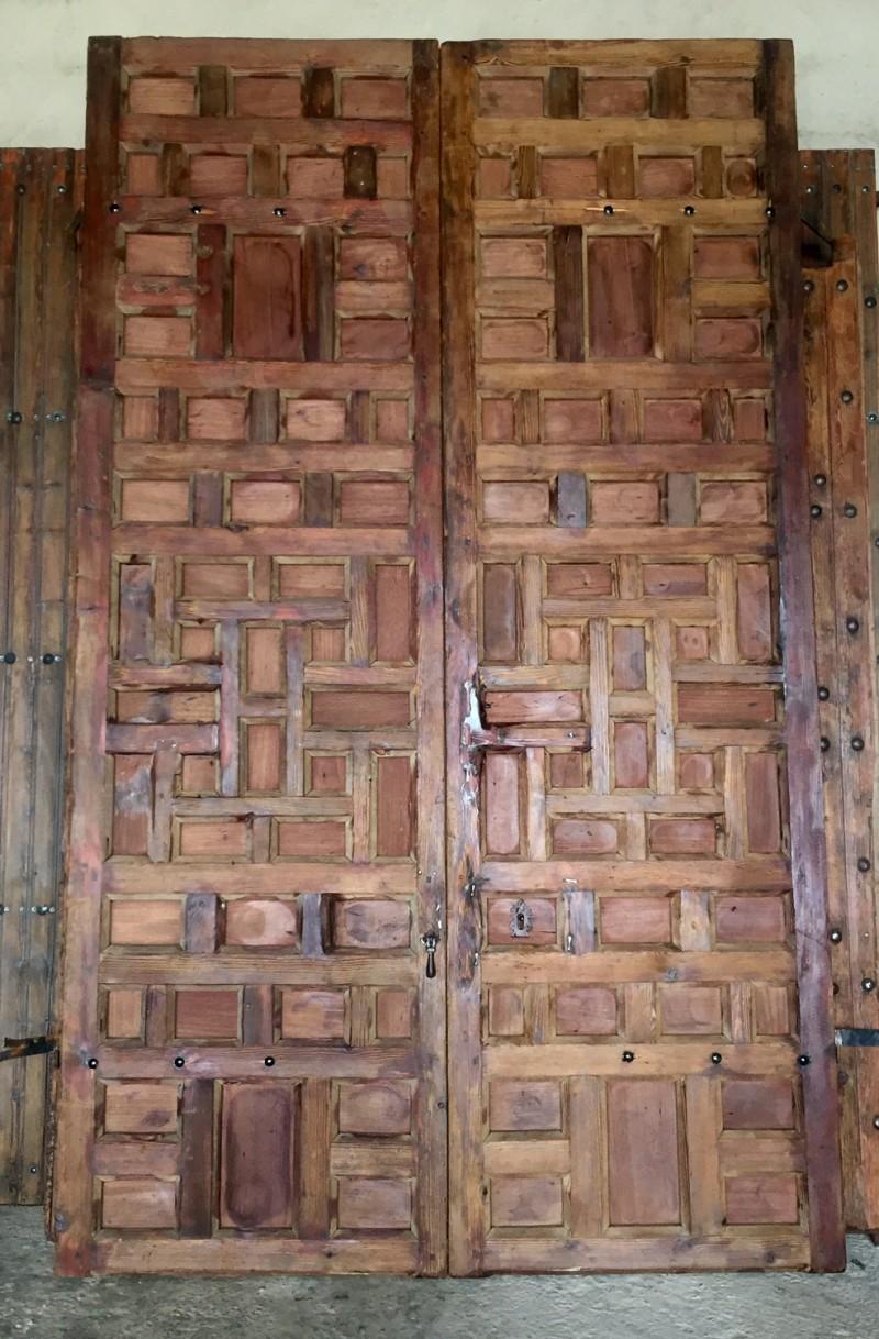 Ref 16140 port n antiguo de cuarterones cat logo for Porton madera antiguo