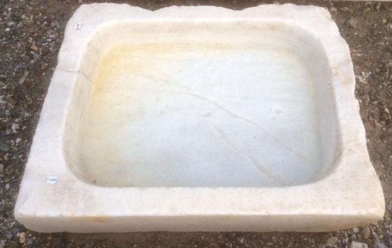 Ref 7116 fregadero de un seno cat logo antig edades - Fregadero de marmol ...