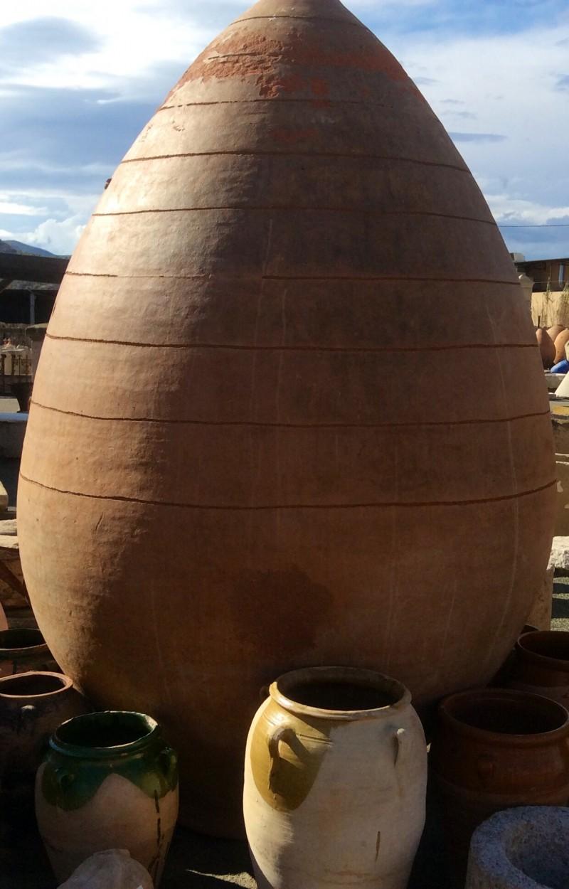Ref 3005 tinaja gigante cat logo antig edades diego for Fregaderos de barro