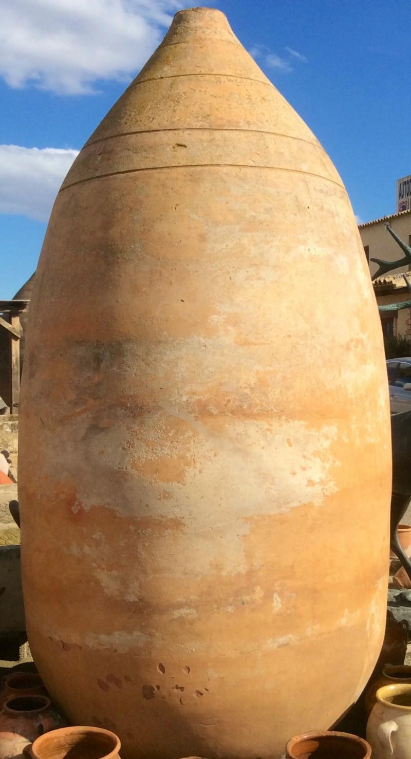 Ref 3024 tinaja gigante cat logo antig edades diego for Fregaderos de barro