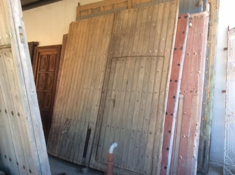 Ref 16141 puerta de parador cat logo antig edades - Restaurar puertas antiguas ...