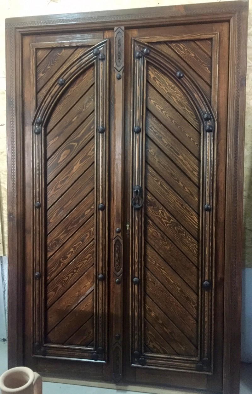 Ref 16032 puerta de exterior cat logo antig edades for Puerta exterior 120 cm