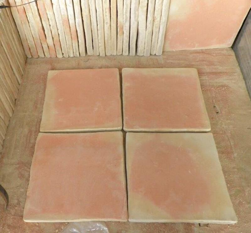 Losa de barro manual 30x30 cm
