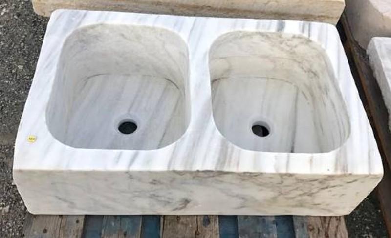 Ref 7215 fregadero de m rmol cat logo antig edades diego reinaldos - Fregadero marmol ...