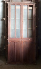 Alacena de madera antigua. Mide 94 cm de ancho x 2.13 cm de alto