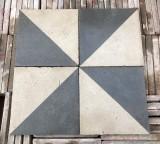 Losa de cemento, mosaico. Mide 20x20 cm. Disponible 5.12 m2