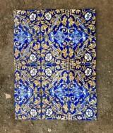 Azulejos antiguos. Miden 14 x 14 cm. Hay 355 piezas