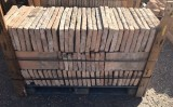 Ladrillo de suelo antiguo. Mide 40 cm x 19 cm x 3,5 cm. En stock hay 11,48 m2
