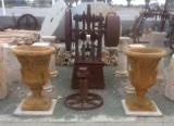 Copa decorativa mide 55 cm diámetro x 80 cm de alta