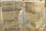 Bloques de piedra antiguos, para fachadas. Miden aprox 1 mt x 60 cm x 46 cm aunque hay de varios tamaños