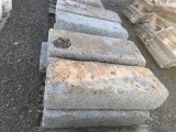 Escalera de granito antigua. Hay 21 ml mide 40 cm de huella x 19 cm de altura