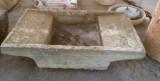 Pila de lavar doble antigua, mide 1.70 cm x 1.02 cm x 32 cm de alto