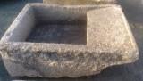 Pila de lavar antigua, mide 1.25 cm x 90 cm x 46 cm de alto