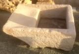 Pila de lavar antigua, mide 1.01 cm x 78 cm x 37 cm de alto