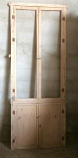 Alacena de madera antigua. Mide 92 cm de ancho x 2.38 cm de alto