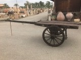 Carro de madera antiguo. Mide 4.07 mts de largo x 1.30 cm de ancho