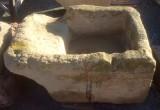 Pila de lavar antigua, mide 1.05 mt x 77 cm x 51 cm de alto