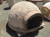 Horno de barro tradicional de 1,40 cm diámetro y 90 cm alto. Peso aproximado 800 kilos