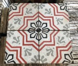 Losa de cemento, mosaico. Mide 20x20 cm. Disponible 25.32 m2