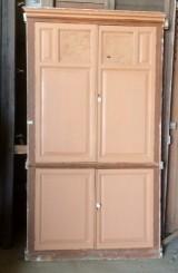 Alacena de madera antigua. Mide 1.10 cm de ancho x 2 mt de alto