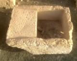Pila de lavar antigua, mide 86 cm x 65 cm x 40 cm de alto