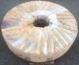 Piedra de molino de piedra viva. Mide 1.18 cm de diámetro x 30 cm de grueso