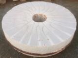 Piedra de molino de piedra viva. Mide 1.37 cm de diámetro x 25 cm de grueso