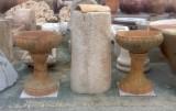 Copa decorativa mide 63 cm diámetro x 80 cm de alta