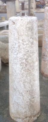 Rulo de piedra viva. Mide 34 cm de diámetro x 1.21 cm de alto.