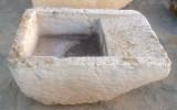 Pila de lavar antigua, mide 1 mt x 71 cm x 42 cm de alta.