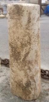 Rulo de piedra viva. Mide 44 cm de diámetro x 1.32 cm de alto