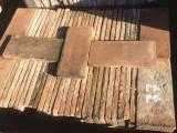 Losa de barro antigua. Mide 40x18x3 cm. En stock hay 77 Uds = 5,54 m2
