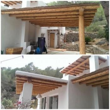 Ibiza porch